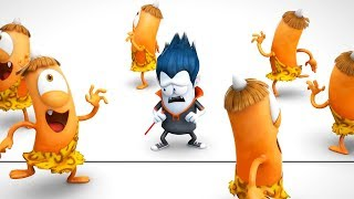 Funny Animated Cartoon | Spookiz | Cula VS Kebi | 스푸키즈 | Cartoon For Children