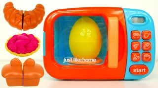 Microwave Oven For Kids Surpirse Toys and More