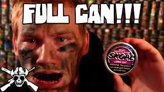 Full can of SKOAL BERRY!!! WARNING! *PUKE*