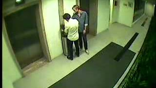 CCTV: drunk swede in singapore throws trash can from 12th floor