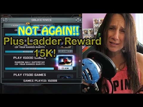 Taking L's and Ladder Reward !! WWE SUPERCARD S.3