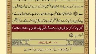 Quran-Para 21/30-Urdu Translation
