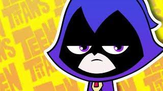 YO MAMA SO STUPID! Teen Titans Go - Raven