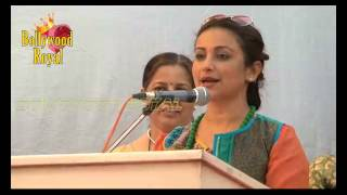 Divya Dutta,Anil Murarka Spread Awareness About Eco Friendly Holi with Eco Friendly Colours Part 1