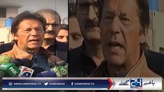 After Nawaz Sharif, PM Abbasi is next target of Imran Khan
