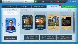 FIFA 16 MOBILE OPENING PACK |3 PLAYERS