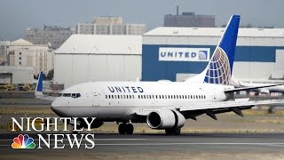 United Passenger Files Emergency Court Petition Over Flight Incident | NBC Nightly News