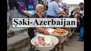 Azerbaijan (Beautiful Şəki Bazar-Market) Part 25