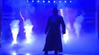 The Undertaker appears on