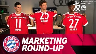 Lewy, James, Javi & more: Fully committed, even off the pitch! | Audi Summer Tour 2017