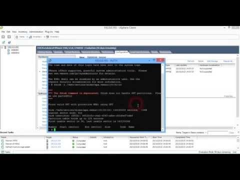 Xxx Mp4 Recreating A Missing VMFS Datastore Partition In VMware VSphere 5 5 3gp Sex