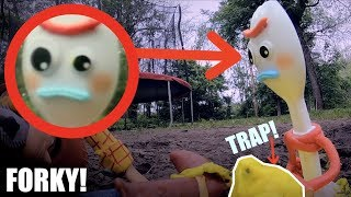 CAPTURING FORKY IN REAL LIFE! *Toy Story 4*