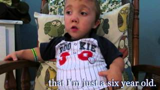 Grant with DWARFISM: A little film about a little boy with a not so little heart (OFFICIAL VIDEO)
