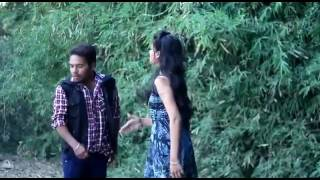 Desi girl and boy in forest