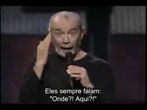 George Carlin Common Experiences Portuguese Subtitles