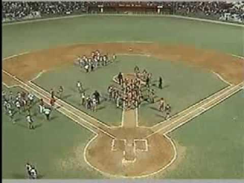 Pelea a batazos entre equipo de Matanzas y Villa Clara en la pelota cubana