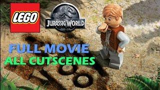 Lego Jurassic World - All Cutscenes / Full Movie