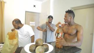 The Making of Zigo Remix Audio with DiamondPlatnumz in South Africa Part 1