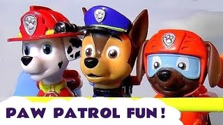 Paw Patrol Fun with Peppa Pig Surprise Eggs Thomas and Friends Toys Skittles Accident and Rescue