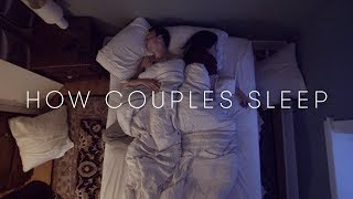 How Couples Sleep Together