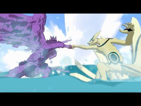 Naruto vs Sasuke Chapter 695 Fan Animation