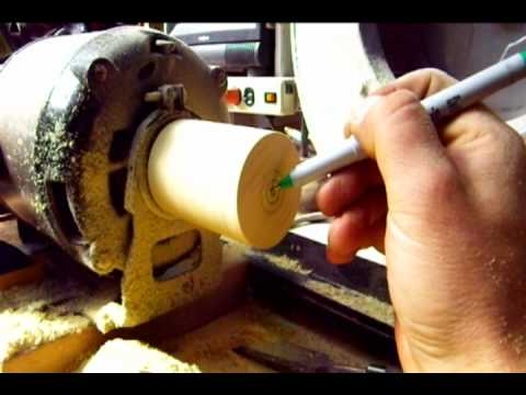 Homemade Wood Lathe a good start