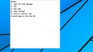 How to stop screen glitch windows - ATTENTION !!! STEP 4: type