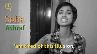 Sofia Ashraf is #NotSoHappyInIndia