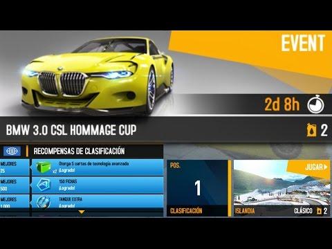 Asphalt 8 - BMW 3.0 CSL Hommage (Iceland) 1:13.854