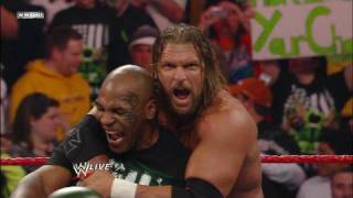 DX vs. Chris Jericho and Raw Guest Host Mike Tyson