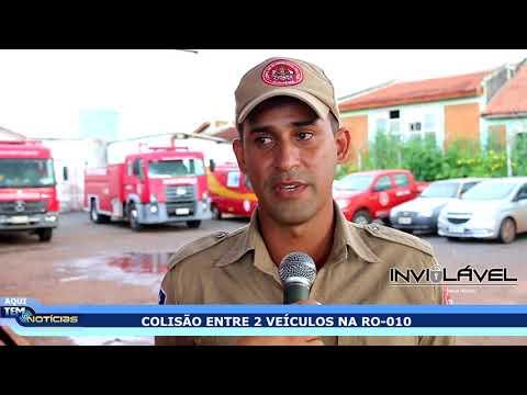 Xxx Mp4 COLISÃO ENTRE 2 VEÍCULOS NA RO O10 DEIXA 2 PESSOAS FERIDAS 3gp Sex