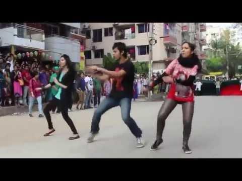 Bangladesh Medical & Dental College Flash mob