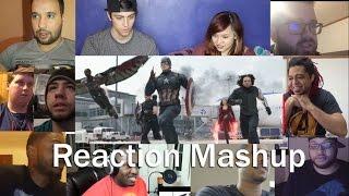 Captain America Civil War MTV Movie Awards Clip REACTION MASHUP