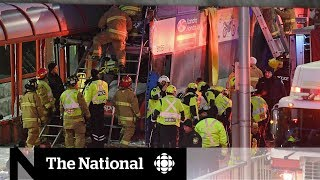'Chaos' following deadly bus crash at Ottawa transit station