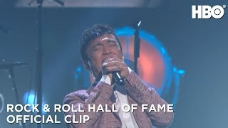 Rock and Roll Hall of Fame Induction Ceremony 2017: Journey Performs Don't Stop Believin' (HBO)