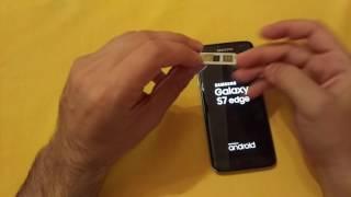 Samsung S7 edge G935FD dual Sim Greek hands on. Dual Sim and Micro SD simultaneously