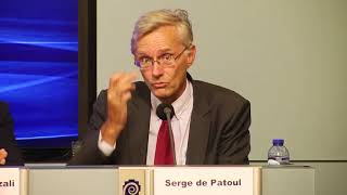 Speech by Serge de Patoul at Press Conference on Iran