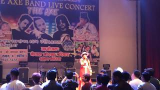 Namaste Jhajallo jhorle hai   Namaste Jhajallo jhorle hai (live concert with Radhika Hamal ) Korea