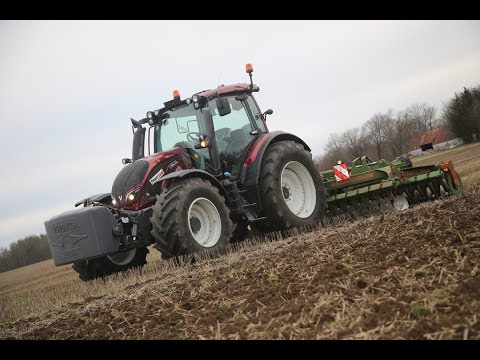 PowerGear tester Valtra N154 Direct Eco