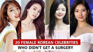 20 Female Korean Celebrities Who Didn't Get A Surgery