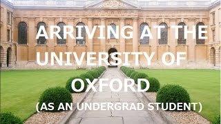 VLOG// Arriving at Oxford University - Bree's Oxford Diary