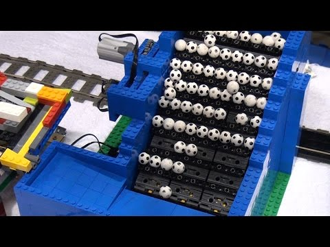 LEGO Great Ball Contraption Rube Goldberg BrickFair Alabama 2016