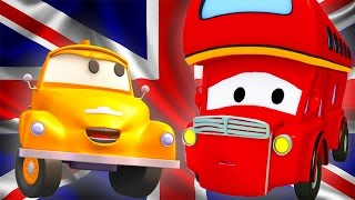Tom The Tow Truck and Denver the Double Decker Bus in Car City | Cars & Trucks construction cartoon