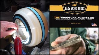 Woodturning a Resin and Milliput Enclosed Bowl - Easy Wood Tools Special