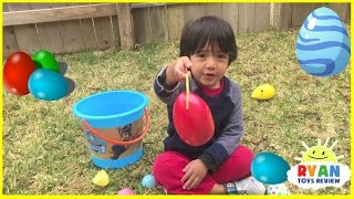 EASTER EGG HUNT FOR KIDS SURPRISE EGGS Toys! Disney Cars, Thomas & Friends, Spiderman, Paw Patrol