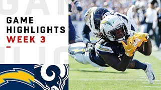 Chargers vs. Rams Week 3 Highlights   NFL 2018