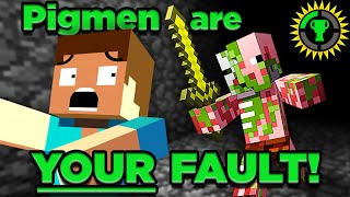 Game Theory: The Tragic Story of Minecraft's Zombie Pigmen (Piglins)