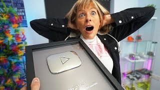 Morgz SURPRISED Me With My SPECIAL AWARD (*I Cried on Camera*)