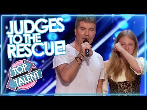 JUDGES TO THE RESCUE Simon Cowell & Co Step In To SAVE AUDITIONS On GOT TALENT & X FACTOR
