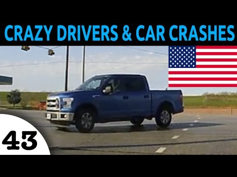 watch Crazy Drivers & Car Crash Compilation USA Episode 43